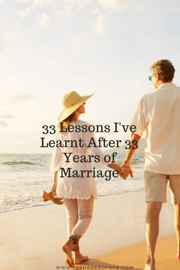 33 Lessons I've Learnt After 33 Years of Marriage