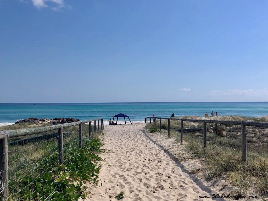 In My Backyard - Kirra Beach - 50 Shades of Age