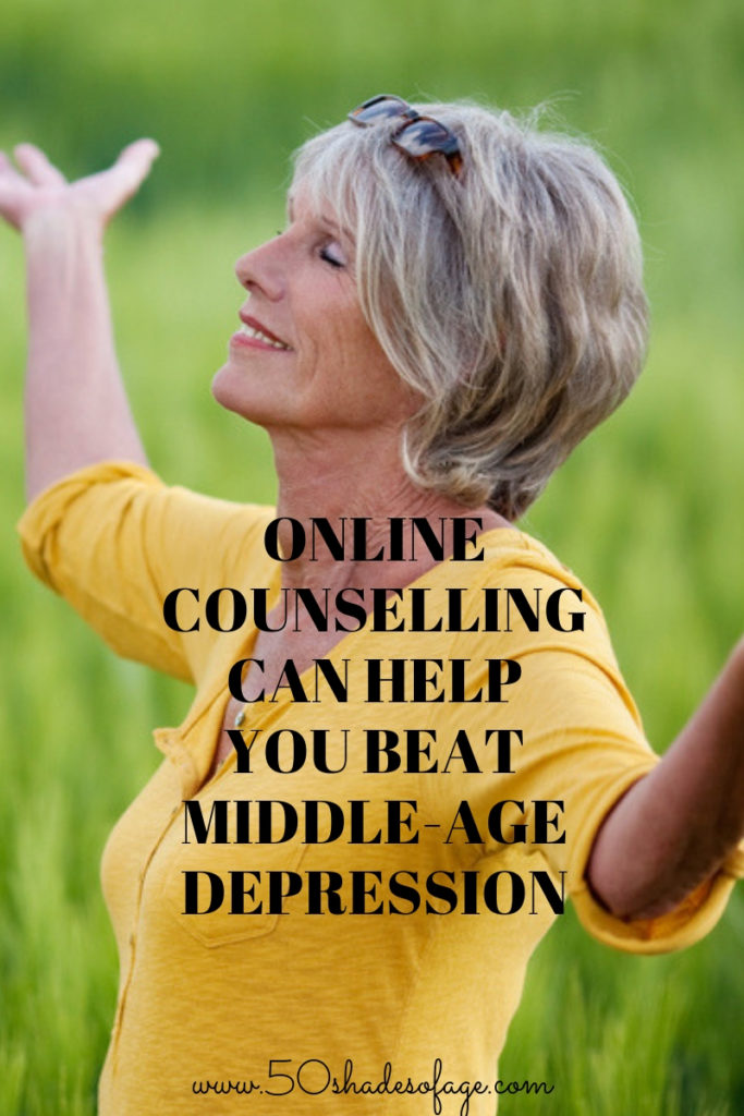 Online Counselling Can Help You Beat Middle-Age Depression