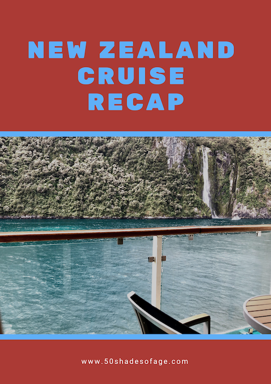 New Zealand Cruise Recap