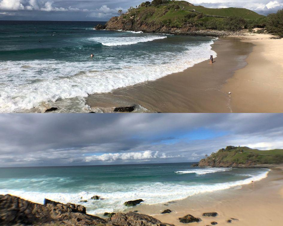 Cabarita Beach with Grand Angle Lens