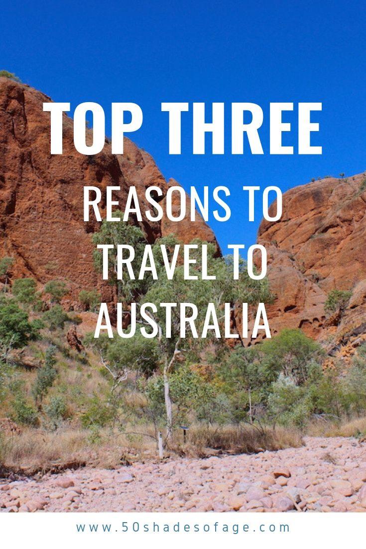 Top Three Reasons To Travel To Australia