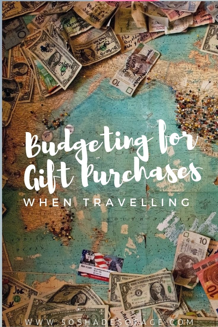 Budgeting for Gift Purchases When Travelling