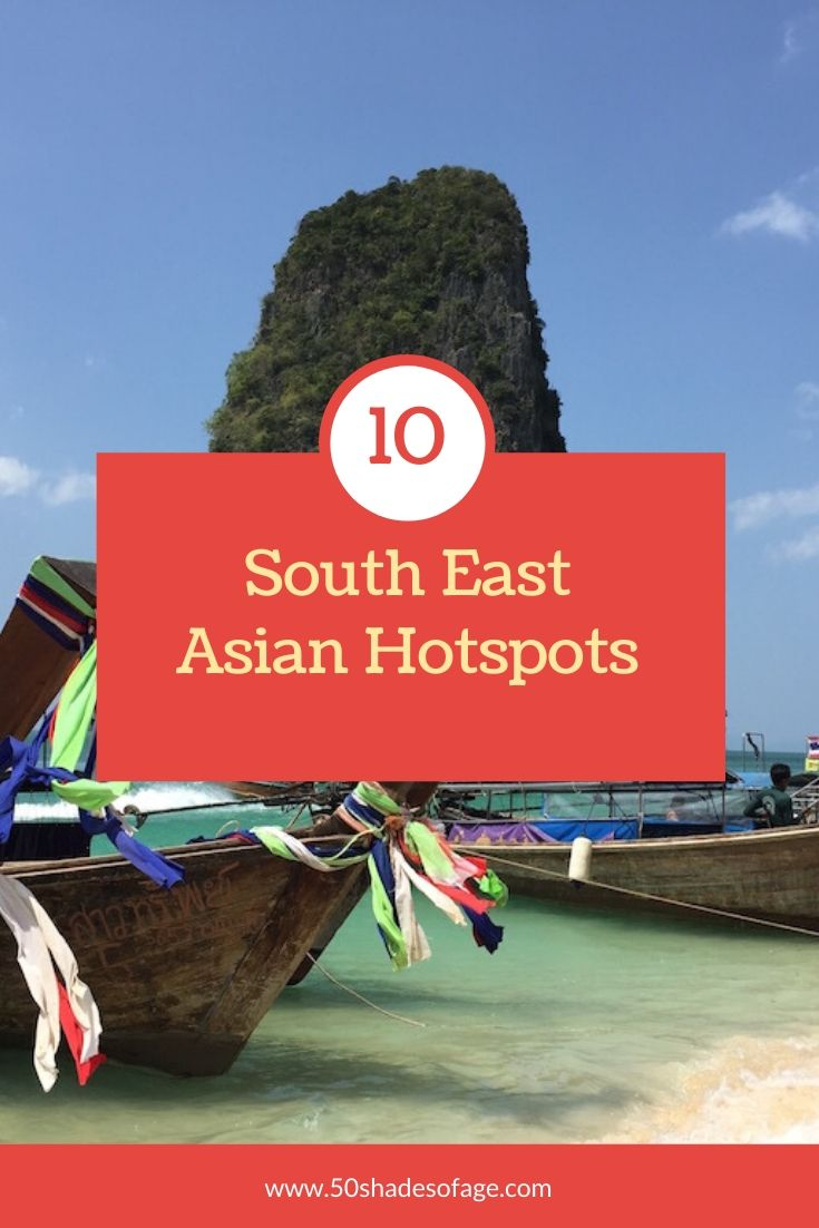 10 South East Asian Hotspots