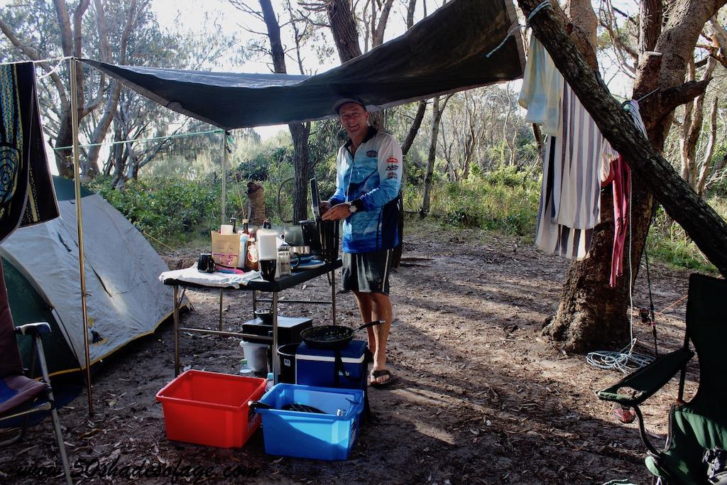 The Camping Caveman